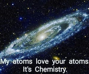 chemistry, galaxy, and her image