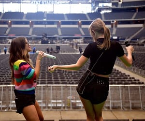 AT&T Stadium Taylor Swift and Maren Morris