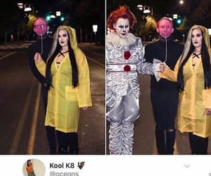 clown, comedy, and costume image