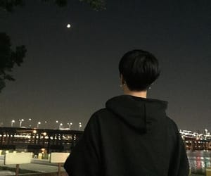 boy, night, and aesthetic image