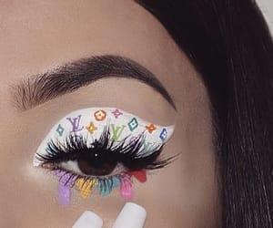 aesthetic, eyes, and eyeshadow image