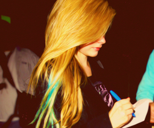 Avril Lavigne, hair, and Avril image