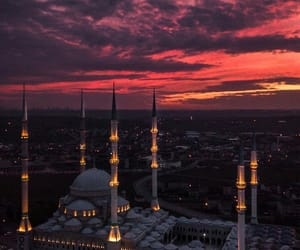 islamic, mosque, and muslim image