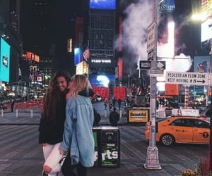 girls, new york, and friends image