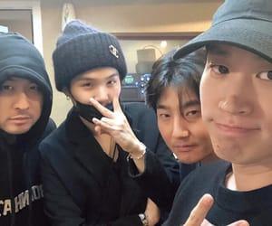 epik high, yoongi, and bts image