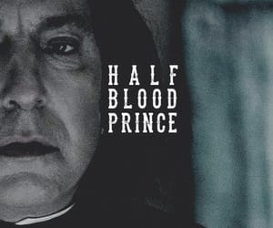 harry potter, severus snape, and half blood prince image