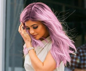 hair, out, and purple image