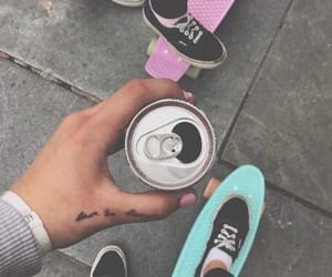 tumblr, vans, and skate image