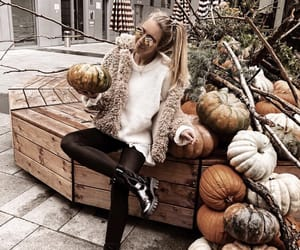 aesthetic, autumn, and girl image