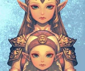 girl, link, and princess image