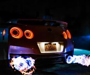 car and drift image