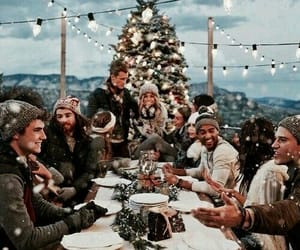 christmas, winter, and family image