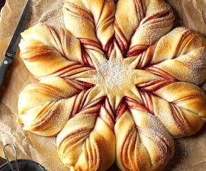 bread, christmas, and star image