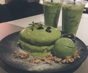 green tea, sweet, and drink image