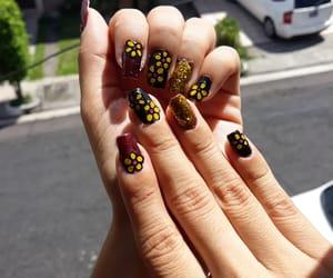 beauty, uñas, and natural nails image