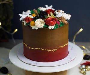 art, cake, and decoration image