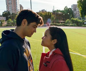 couple, lana condor, and lara image