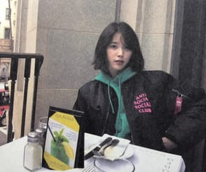 k-pop, low quality, and iu image