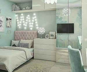 lights, tumblr, and room decorations image