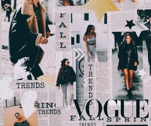 wallpaper, vogue, and background image