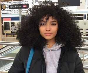 curls, hair, and beauty image