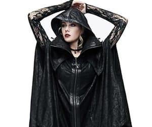 black, costume, and elegant image
