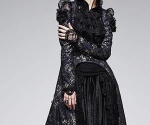 black, elegant, and gothic image