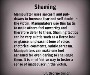 abuse, evil, and shame image