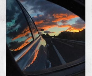 car, sin, and sky image