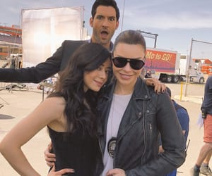 lauren german, tom ellis, and aimee garcia image