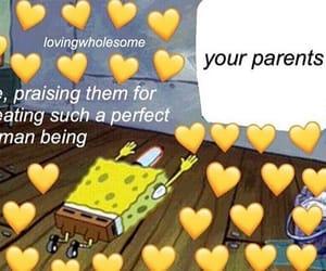 appreciation, memes, and spongebob image
