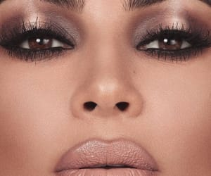 beautiful woman, kim kardashian, and lips image