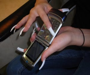 cyber, ghetto, and nails image
