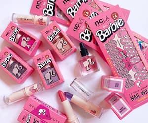 barbie, makeup, and pink image