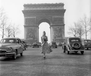 paris and woman image