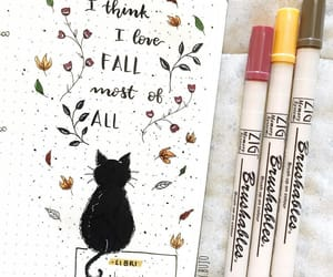 journaling, quote, and school image