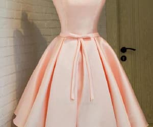 cute prom dresses, prom dresses pink, and lace prom dresses image