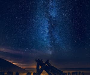 beach, galaxy, and Lithuania image