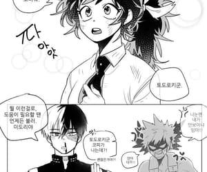 bnha, fanart, and manga image