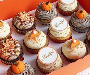 autumn, cake, and cupcakes image