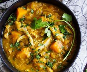 cilantro, butternut squash, and maras pepper image