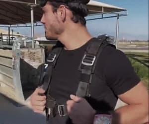 damn, skydiving, and grayson dolan image