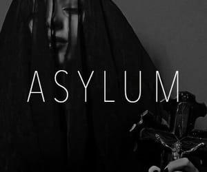 asylum, poster, and edit image