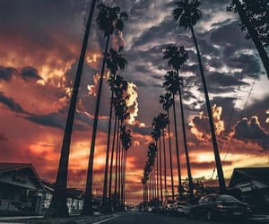 aesthetic, sunset, and beauty image