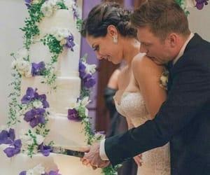 celebrity, wedding, and love image