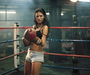 boxing, girl, and motivation image