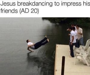 funny, hilarious, and jesus image