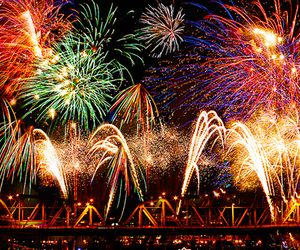 fireworks and 4thof july image