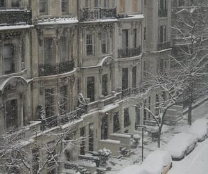 snow, beautiful, and winter image