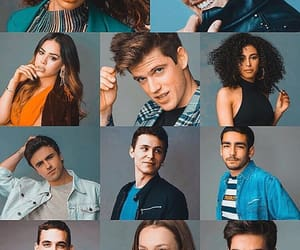 cast, elite, and photoshoot image